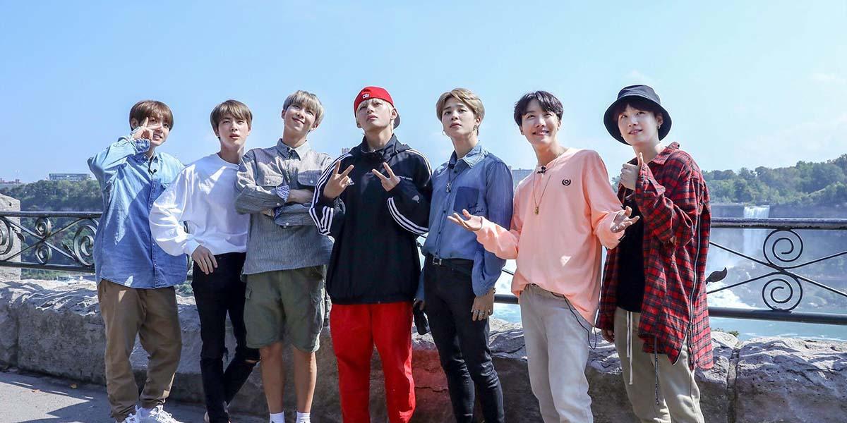 BTS enjoying themselves