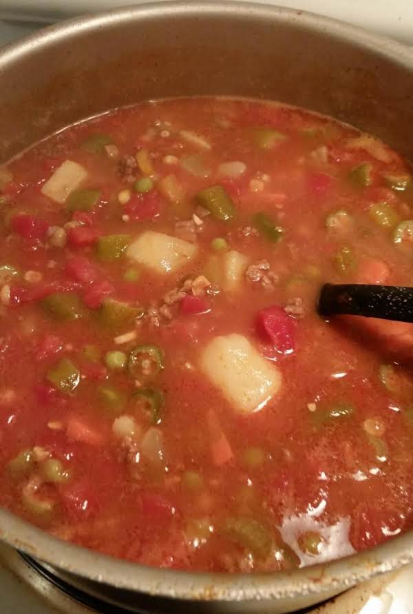 Mawmaw Marilyn's Vegetable Beef Soup Recipe