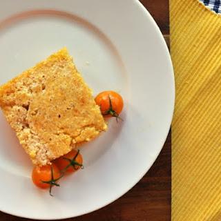 Spicy Tomato Corn Bread.