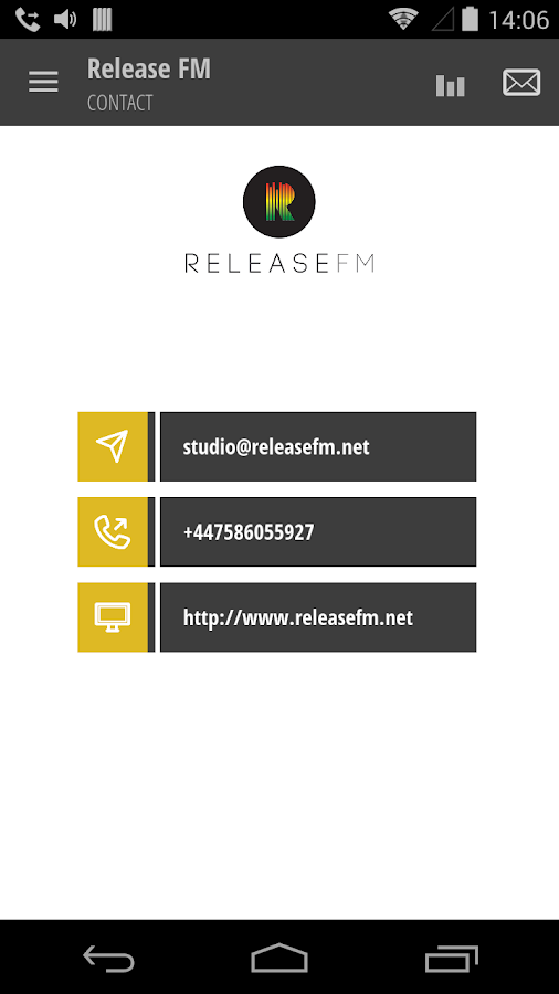 Release FM- screenshot