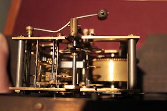 Photo: Mechanizm poskładany.