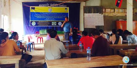 Photo: Mr. Konsy Xayavong , National Training Expert