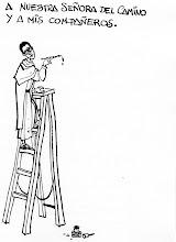 """Photo: Nos la envía José Angel Liaño. """"librito, sabrosísimo, que se publicó en 1966, página con su dedicatoria."""""""