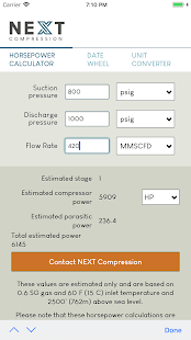 App HP Calculator by NEXT Compression APK for Windows Phone