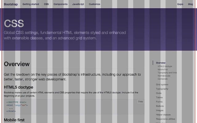 Bootstrap Overlay