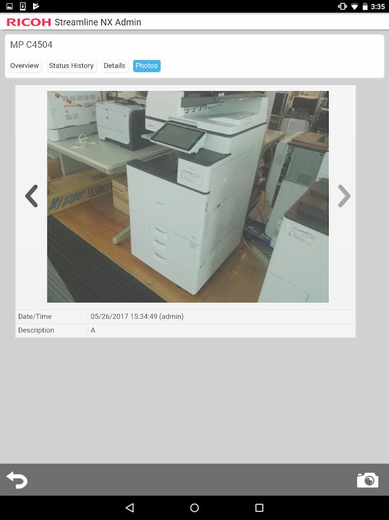 Скриншот RICOH Streamline NX for Admin