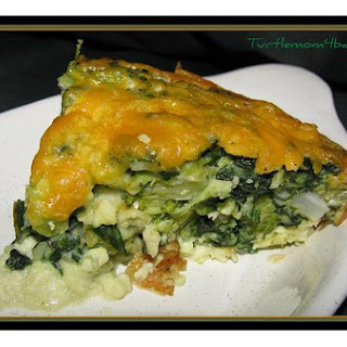 Spinach Or Broccoli Kugel