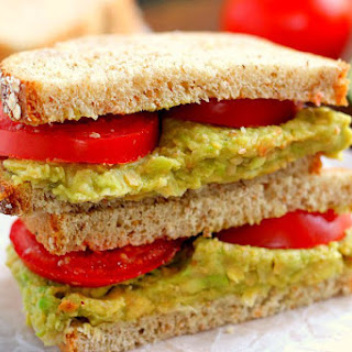 Smashed Chickpea and Avocado Sandwich Recipe