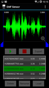 EMF Sensor- screenshot thumbnail