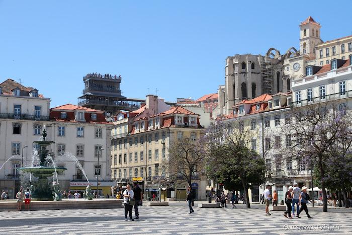 Площадь Росиу, Lisboa