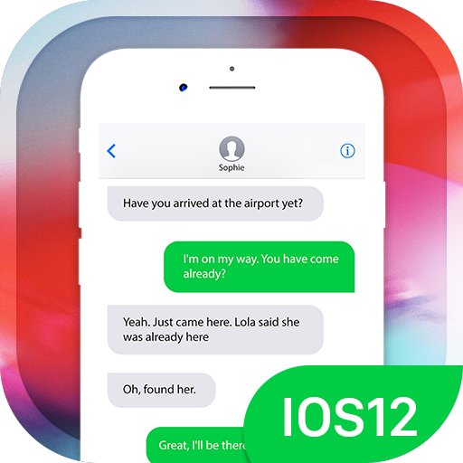 App Insights: Message IOS 12 - Text Messenger style OS12