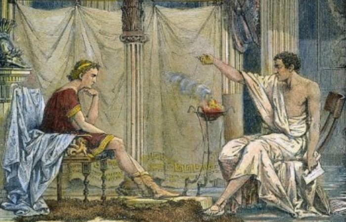 Аристотель любил Александра как сына. / Фото:list25.com