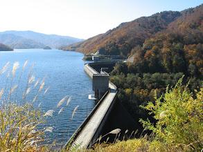 Photo: 展望臺から有峰ダム