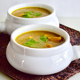 Hearty Middle Eastern Chicken Soup.
