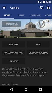 Calvary Baptist Church App- screenshot thumbnail