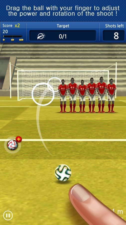 Finger soccer : Football kick- screenshot