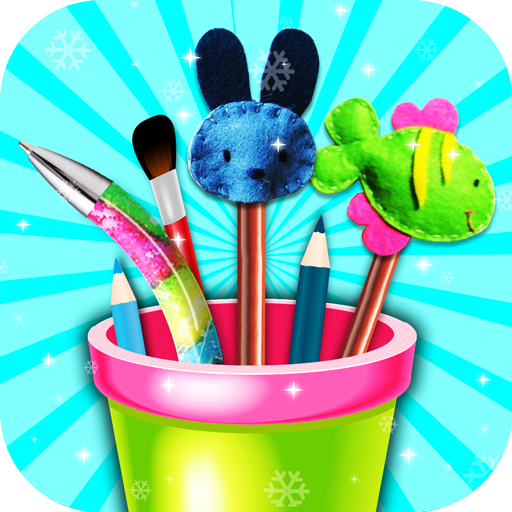 DIY School Supplies Maker Game! DIY Projects Kids (game)