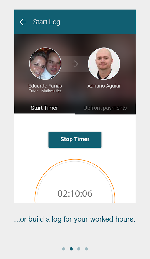 Logbook - Manage Your Payments- screenshot