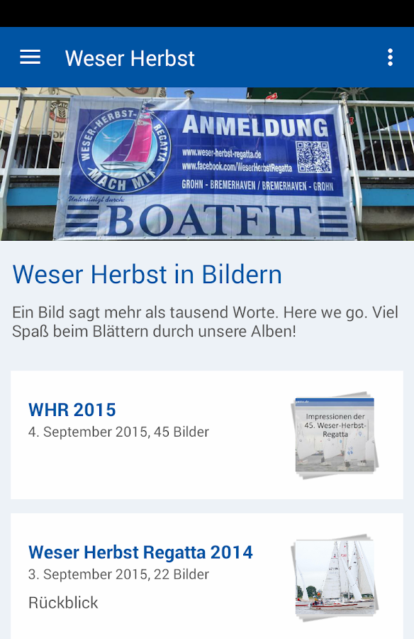 Weser-Herbst-Regatta- screenshot