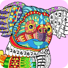 Number Coloring – Coloring book for adults & kids icon