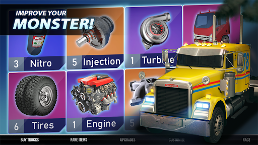 Big Truck Drag Racing screenshot 5