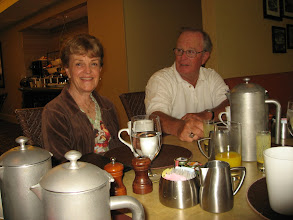 Photo: Susan Cramer Peters and Tom Clark, husband of Jean Golisch Clark