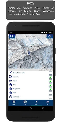 Outdoor and Hiking Navigation  screenshots 8
