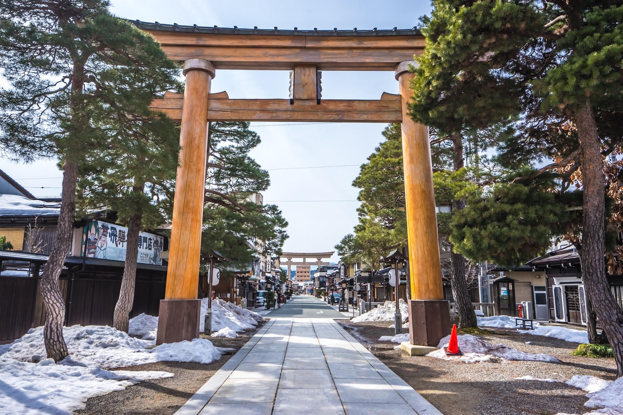 Hida Takayama Sakurayama Hachimangu Shrine3