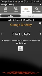 Orange Cineday - screenshot thumbnail