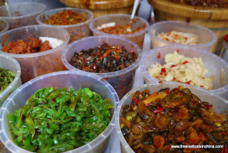 Photo: Pickled vegetables were everywhere! Very salty and very pickled