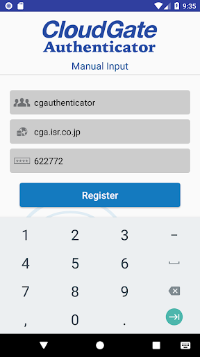 CloudGate Authenticator 1.3.0 Windows u7528 2