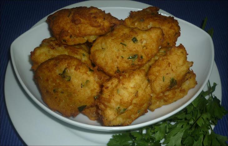 Fish Fritters Recipe