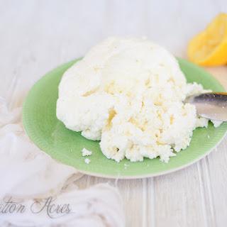 ~Whole Milk Ricotta Cheese~