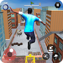 City Rooftop Parkour 2019: Free Runner 3D Game icon