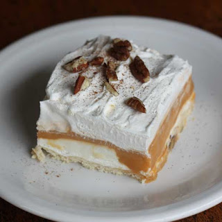 Layered Butterscotch Delight