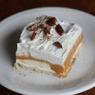 Layered Butterscotch Delight.