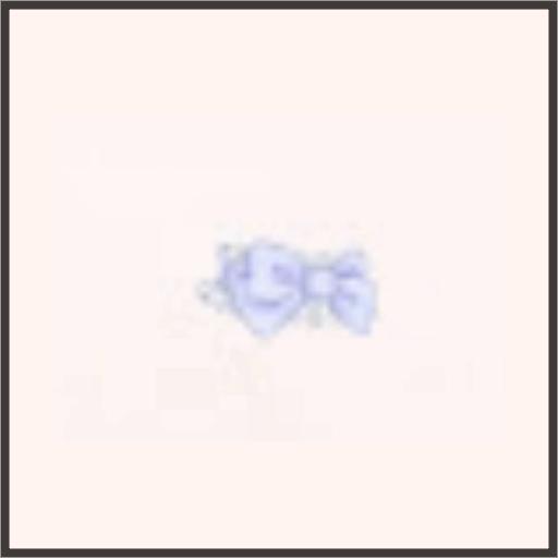 ハートのチョーカー(紫)