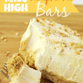 Mile High Pumpkin Pie Bars
