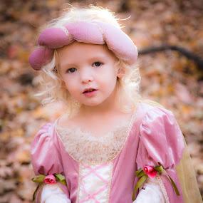 Princess by Richard States - Babies & Children Child Portraits ( child, princess, girl, make believe, female, innocence, beauty, fun, portrait,  )