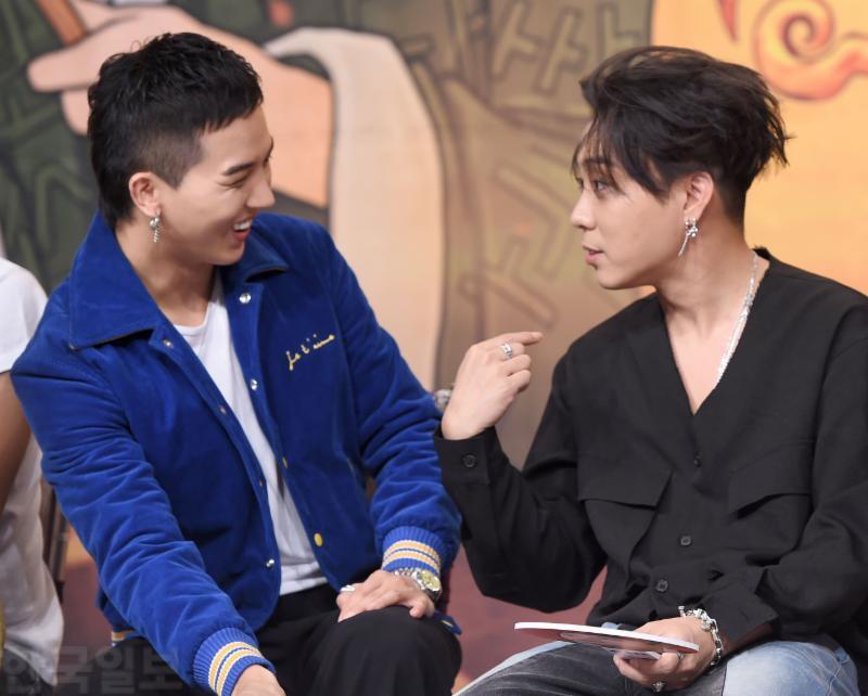 WINNER Mino and SECHSKIES Jiwon