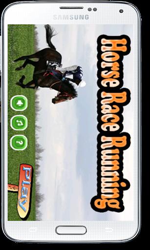 Horse Race Running