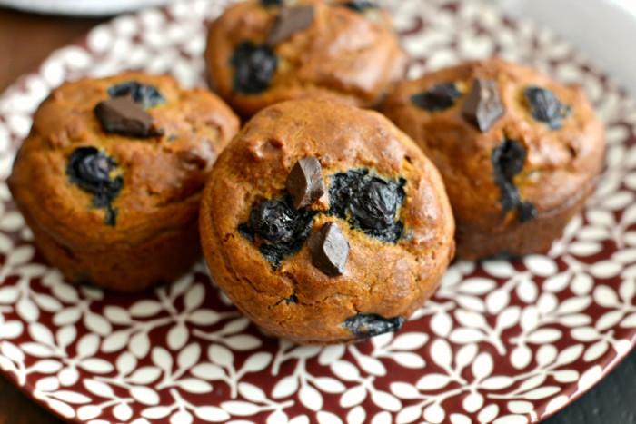 Pumpkin Blueberry Cashew Chocolate Chip Muffins Recipe