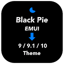 Black Pie Theme for EMUI 9 / 9.1 /10 Huawei/Honor