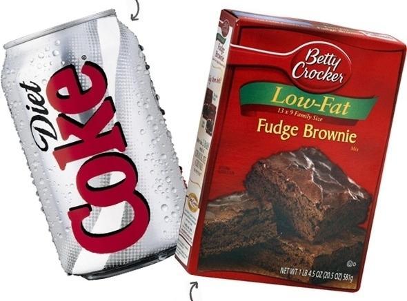 Diet Coke Brownies Recipe