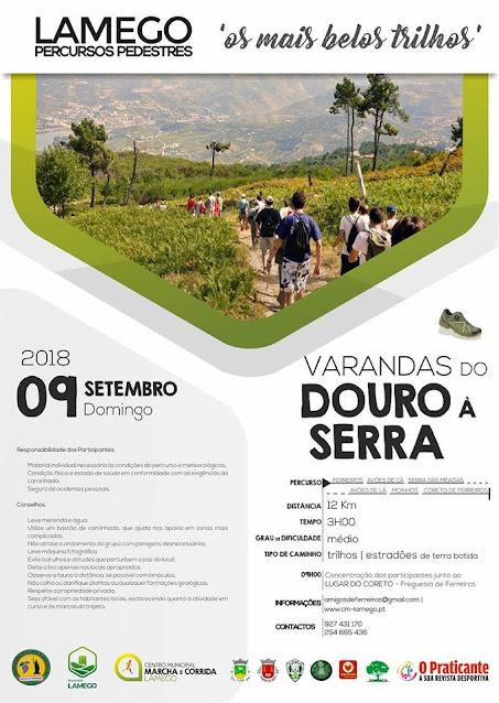 Programa – Varandas do Douro – Ferreiros – 9 de setembro de 2018