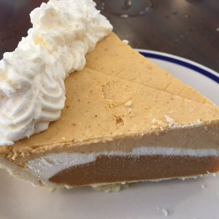 Triple Layer Pumpkin Cheesecake Pie
