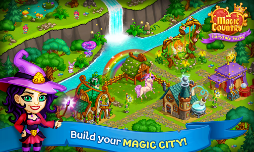 Magic City: fairy farm and fairytale country for Android apk 10