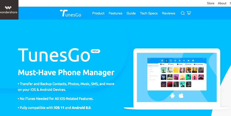 手機資料備份TunesGo