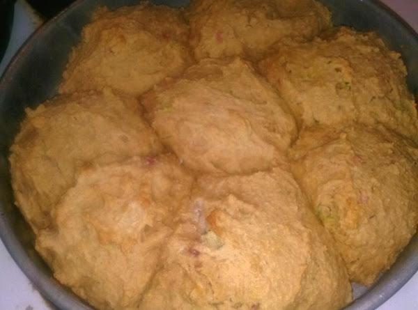 Farmhouse Raspberry Zucchini Biscuits Recipe
