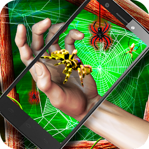 Live Spider on a Hand 3D AR for PC and MAC